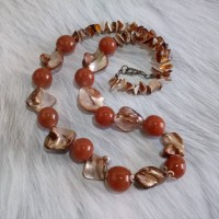 Harga kalung vintage etnik manik kerang | Pembandingharga.com