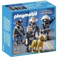 Playmobil 5565 City Action Tactical Unit Police SWAT Team not lego