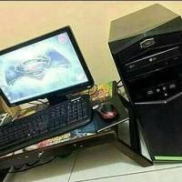 PC SECOND INTEL G2030 + RAM 4GB + VGA 4GB + MONITOR 19 INCH