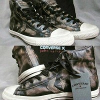 sepatu CONVERSE  JV John Varvatos Star Player EV Hi Top Oil Spill Ori