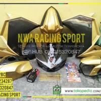 harga Fullset Fairing R25 For New Vixion Titanium Gold Tokopedia.com