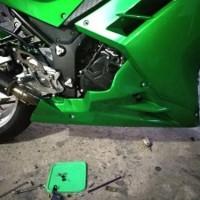 harga Sambungan Fairing / Undercowl Kawasaki Ninja 250 Fi Tokopedia.com