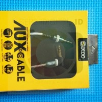 harga Cabel/kabel Aux Audio 3.5mm [1.2 Meter] Male To Male Spring Protector Tokopedia.com