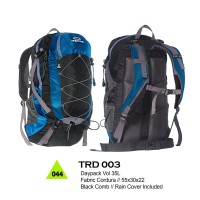 Tas  Gunung - Hiking - Adventure Trekking Carrier Daypack - TRD 003