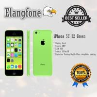 Apple iPhone 5C - 32GB - Green - Garansi 1 Tahun