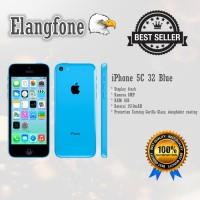 Apple iPhone 5C - 32GB - Blue -  Garansi 1 Tahun