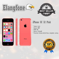 Apple iPhone 5C - 32GB - Pink - Garansi 1 Tahun