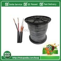 harga Bs0607 Kabel Coaxial Cctv Rg59 Power Panjang 100 Meter Murah Tokopedia.com