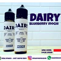 DAIRY BLUEBERRY MOCHI by rays liquid vape grosir toko vape bekasi