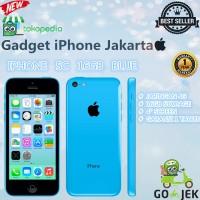 Apple Iphone 5c 16gb Blue 4g Lte - Garansi Platinum 1thn