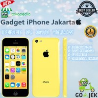 Apple Iphone 5c 16gb Yellow 4g Lte - Garansi Platinum 1thn