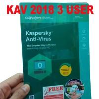 Kaspersky Anti Virus 3 User 2017