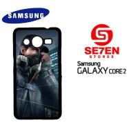 Casing Samsung Galaxy Core 2 Watch Dogs Aiden Custom Hardcase