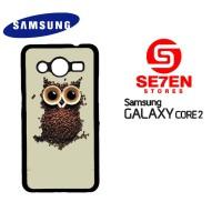 harga Casing Samsung Core 2 Coffee Owl Custom Hardcase Tokopedia.com
