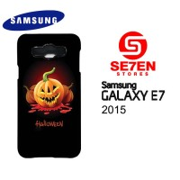 harga Casing Samsung E7 Halloween Pumpkin Carving Custom Hardcase Tokopedia.com
