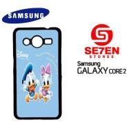 harga Casing Samsung Core 2 Baby Daisy With Donald Duck Custom Hardcase Tokopedia.com