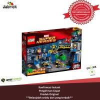 LEGO 76018 SUPER HEROES MARVELHULK LAB SMASH T0210