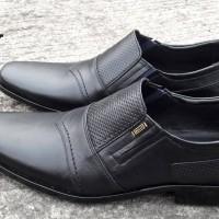 harga Sepatu Pantofel Formal Kerja Men Cowok Pria Murah Bally 4833 Hitam Tokopedia.com