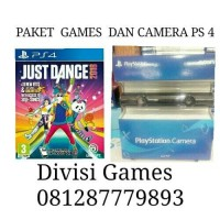 Camera ps4 + Standing +Game Just Dance 2017