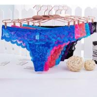 Pakaian Dalam Wanita Celana G-String Sexy laceC028
