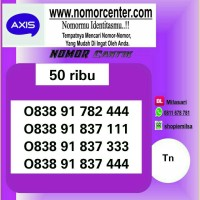 Nomor Cantik Axis Seri Triple 4/1/3//0838-9178-