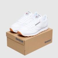 Sepatu Sneakers Reebok Classic Leather-full White