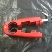 handlock kunci gembok motor stang rem hand grip lock