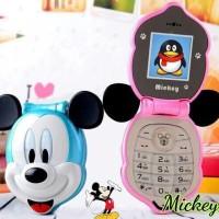 harga Handphone Mini Flip Mickey Mouse Kepala Tokopedia.com