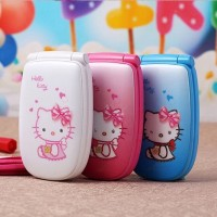 harga Handphone Mini Flip Hello Kitty Tokopedia.com