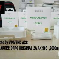 Charger Casan ADapter Adaptor OPPO 2A AK 903 Original