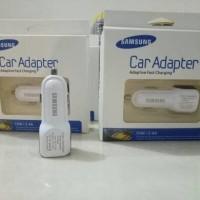 kepala batok Charger fast charging Mobil Original Samsung 2.4A 2 PORT
