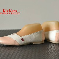 harga Sepatu Kickers Flat Shoes Murah Wanita Keren Gaya Lucu Simple Stylish Tokopedia.com