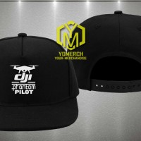 Topi Snapback Dji Phantom Pilots Ym02