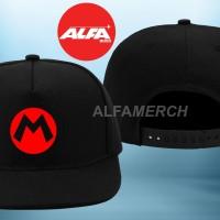 harga Topi Snapback Super Mario Broos Alfamerch Tokopedia.com