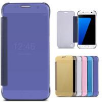 Jual ON7/J7 PRIME | Mirror Cover Flip Case for Samsung Galaxy ON7/J7 PRIME Murah