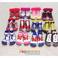 Jual SKIDDER Shoes | Sepatu kaos kaki bayi / anak usia 9bln - 2thn Murah