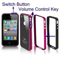 harga Sgp Neo Hybrid Ex Bumper Frame Silicon  Pc Case  Keys  Iphone 4 & 4s  Tokopedia.com