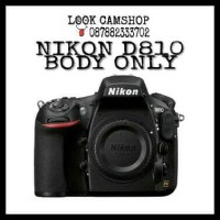 KAMERA DSLR NIKON D810 D 810 - BO ( BODY ONLY )