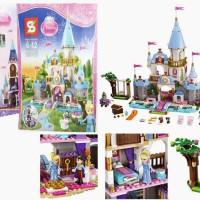 brick SY 325 Lego 41055 Cinderella Romantic Castle disney