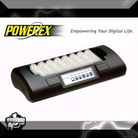 Charger MAHA Powerex MH-C801D Eight Cell 1 Hour AA/AAA Charger