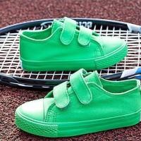 Sepatu Anak Murah Candy Canvas Green(25-30)