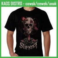 harga Kaos Slipknot-slipknot 1 Dh53 Oblong Distro Tokopedia.com