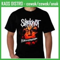 harga Kaos Slipknot-slipknot 2 Dh54 Oblong Distro Tokopedia.com