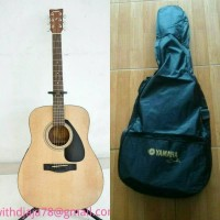 Gitar Akustik Acoustic Folk Yamaha Asli F310 / F 310 + Softcase