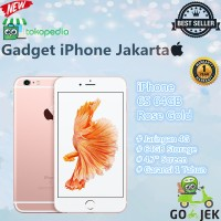 IPHONE 6S 64GB ROSE GOLD GARANSI DISTRIBUTOR 1 TAHUN