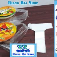 KANTONG PLASTIK TENTENG TAKE AWAY CUP 1 GELAS POP ICE TEA - TEH POCI