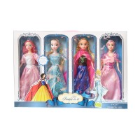 Mainan Anak - Boneka Princess Barbie Happy Beautiful Doll Frozen Anna