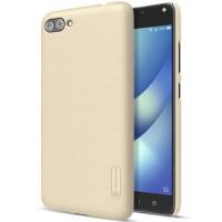 Asus Zenfone 4 Max Pro (zc554kl) Nillkin Hardcase Gold free Antigores