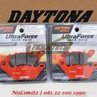 Paket Kampas Rem Depan Belakang Daytona Lapinus Fibers Yamaha NMAX