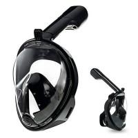 Snorkling Full face mask snorkeling diving mask kacamata renang
